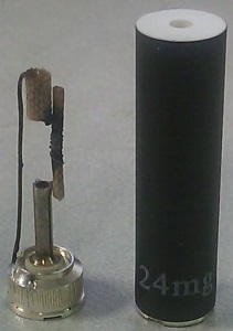 Inside Polyfill Boge E-Cigarette Cartomizer