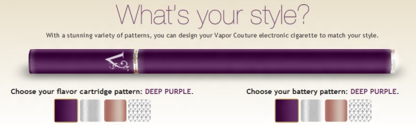 Vapor Couture Colors