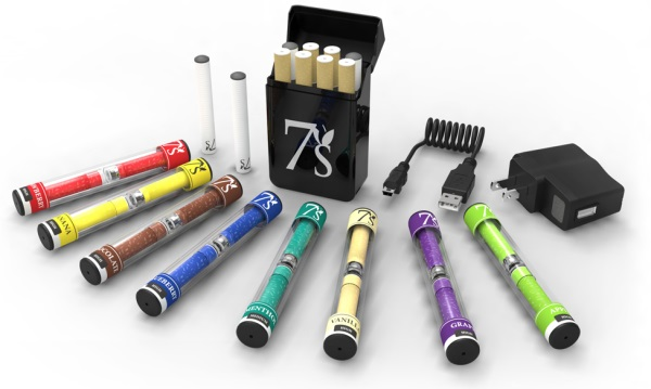Image result for images of 7s vapor cigarettes