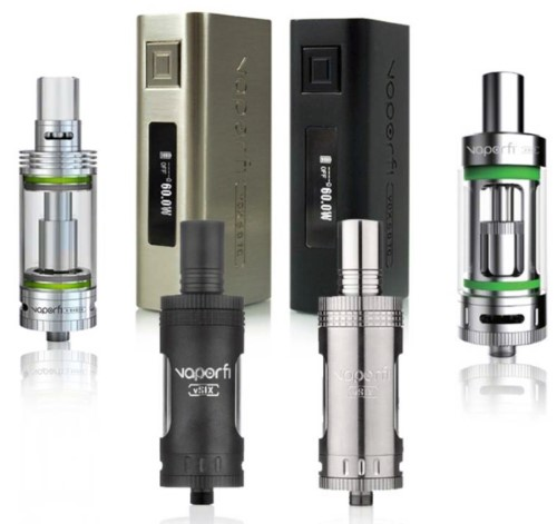 Best E-Cigarettes 2016 VaporFi VOX 60 TC