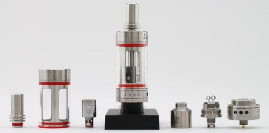 E-Cigarette Tank Parts
