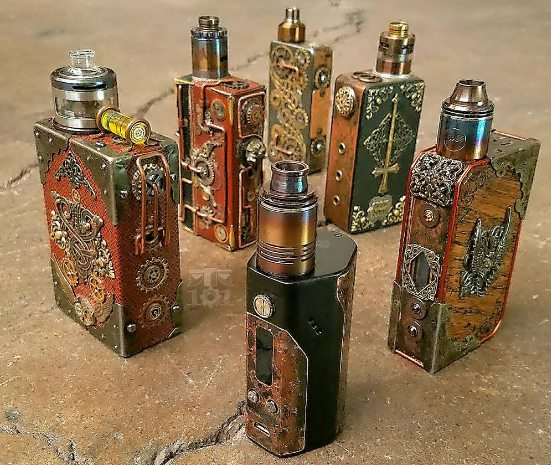 Steampunk E-Cigarettes Mods