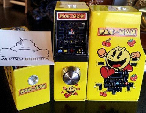 Crazy E Cigarettes Pac Man Mod