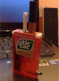 Crazy E Cigarettes Tic Tac Mod