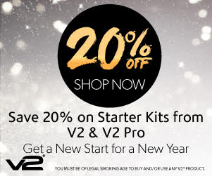 V2 Cigs Discount and Free V2 Pro Series 3