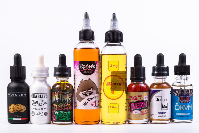 Vape Juice Nicotine Strength