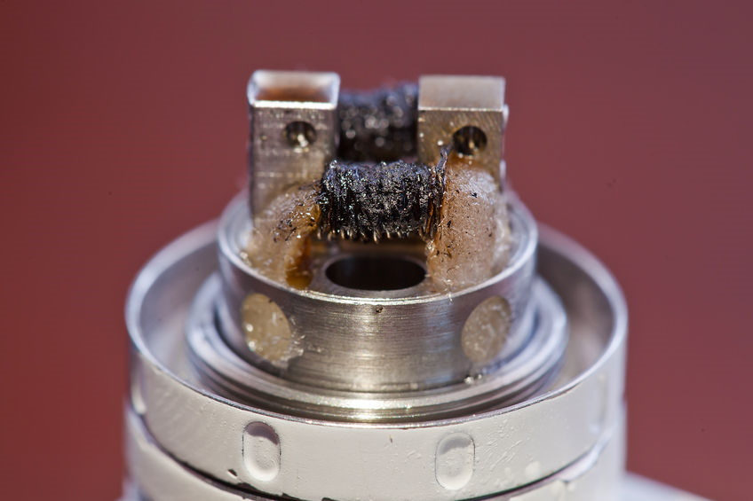 Clean Atomizer Coil